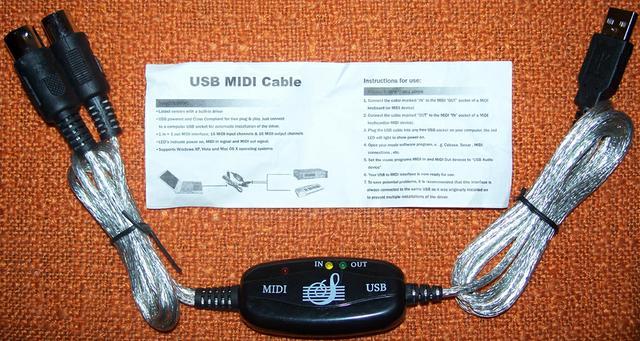 Midi кабель своими руками